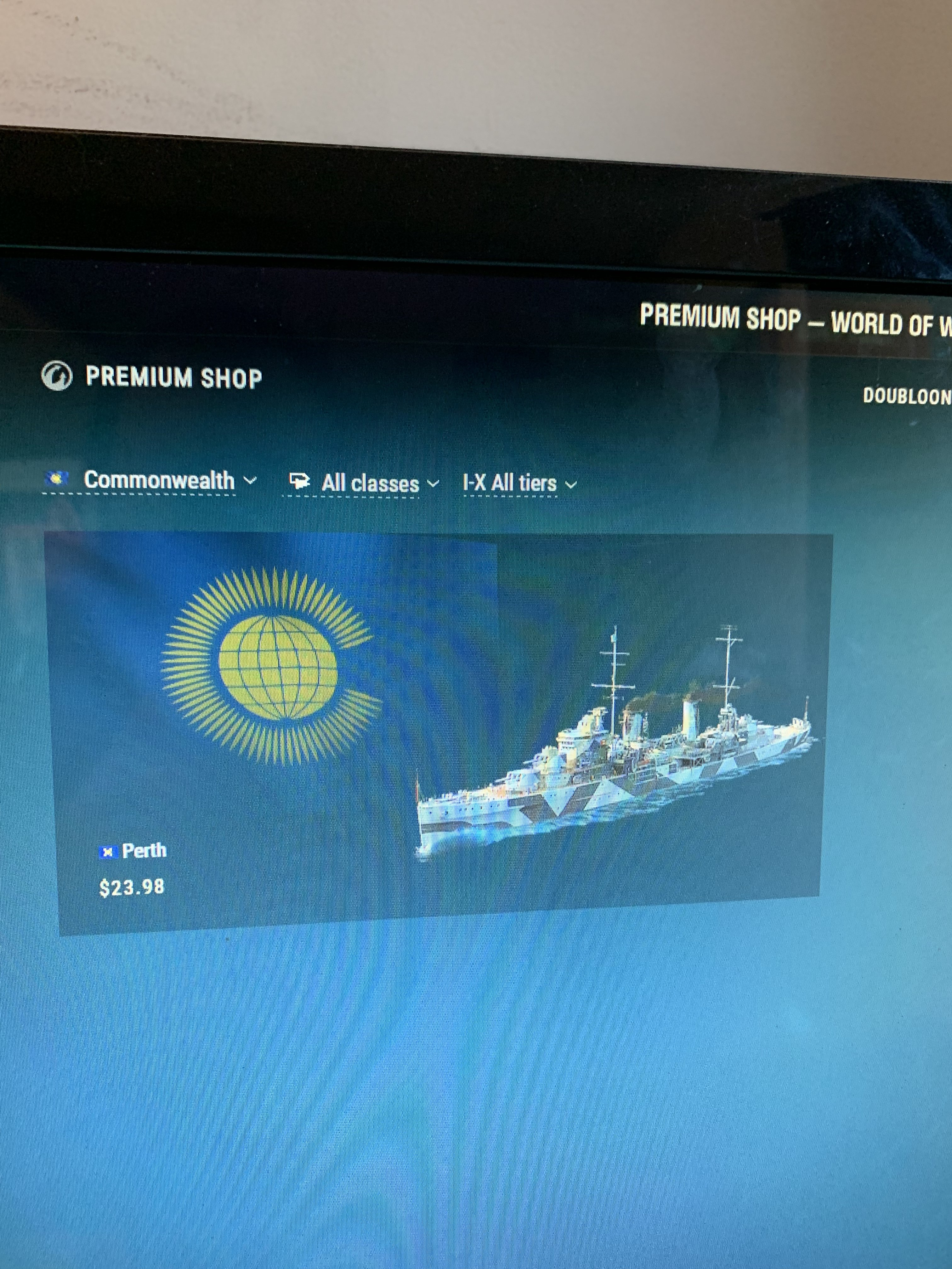 Premium Shop Issue - Support - World of Warships official forum