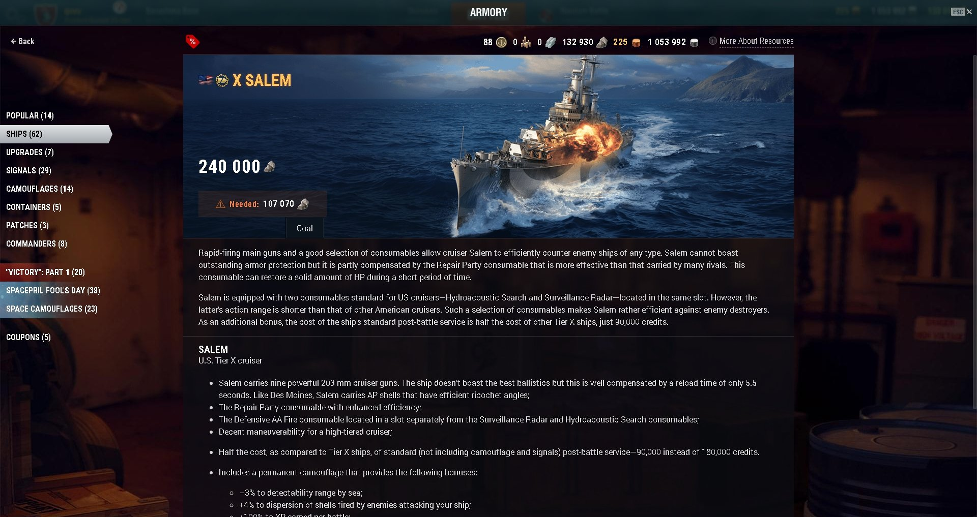 Ship Coupons - General Game Discussion - World of Warships