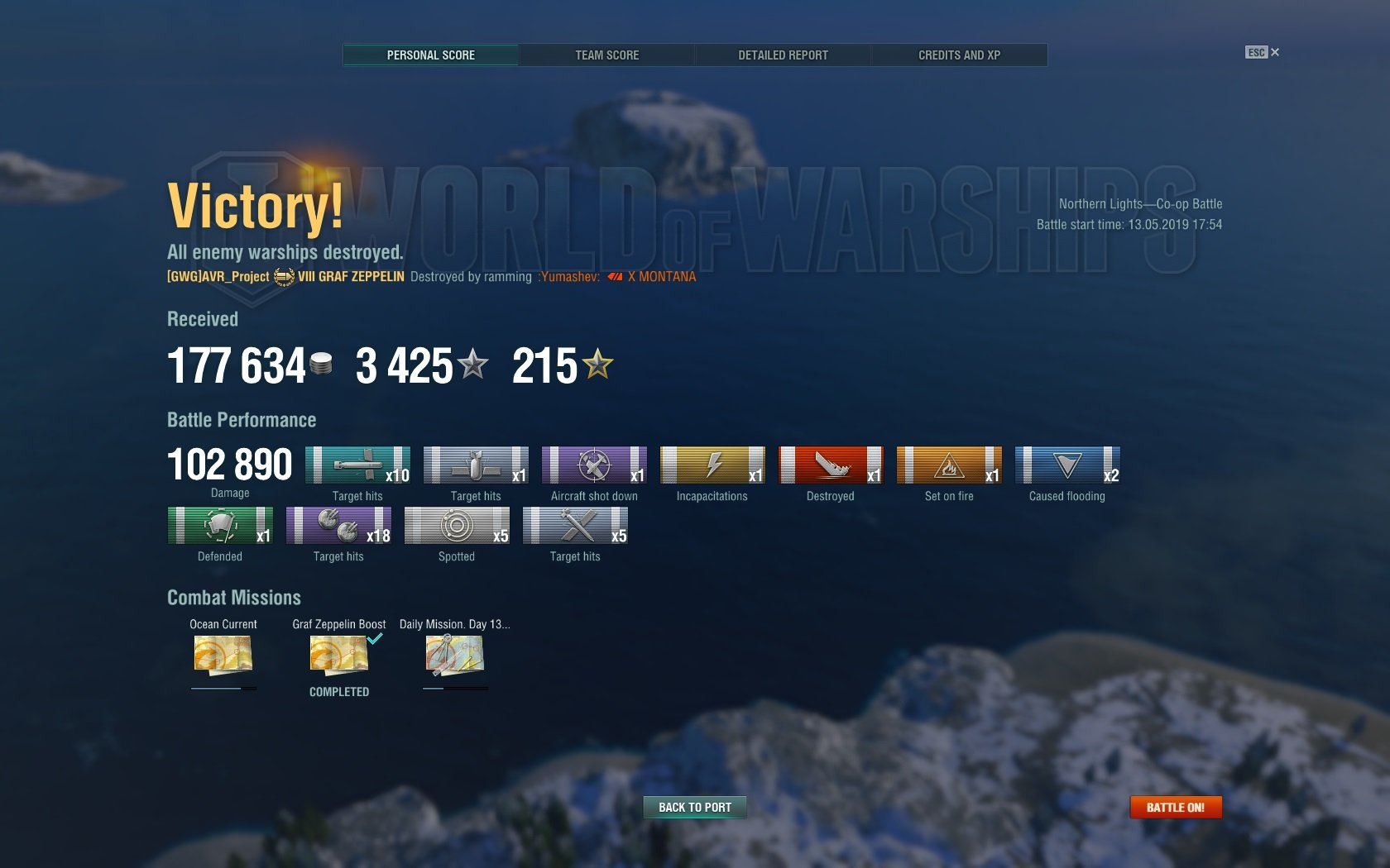 Found out how to get decent damage in the Graf Zeppelin
